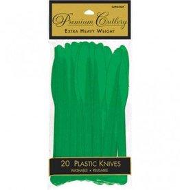 Festive Green Premium Knives 20ct