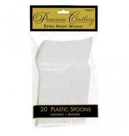 Clear Premium Spoons (20)
