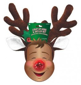 Light Up Nose and Antlers