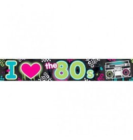 Banner Totally 80's