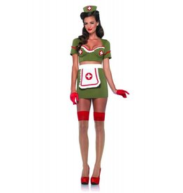 Women's Costume Army Nurse Anna Large