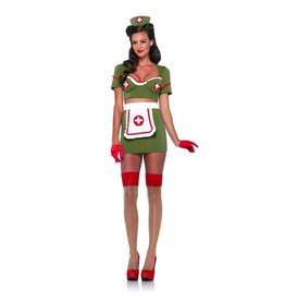 Women's Costume Army Nurse Anna Large