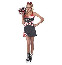 Women's Costume Classic Cheerleader Large