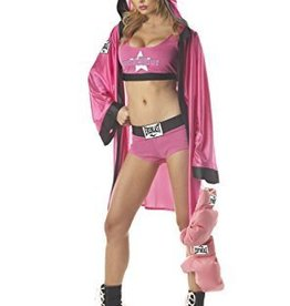 Women's Costume Everlast Boxing Babe Medium (8-10)