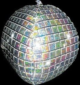 Disco Ball Bubble Balloon