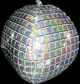 Disco Ball Bubble Balloon