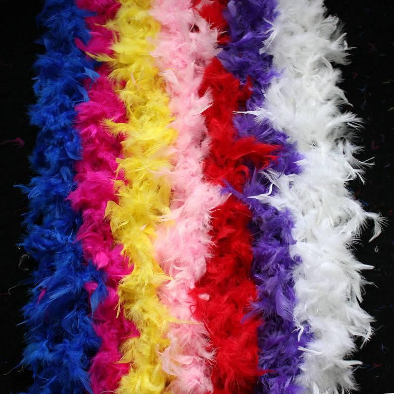 Black Feather Boa 60GM