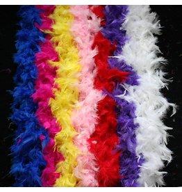 Blue Feather Boa 80GM