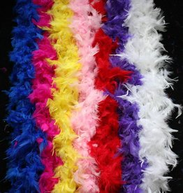 """Lime Green Feather Boa 80"""""""