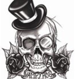 Goth Temporary Tattoo Vampires