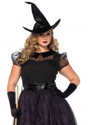 Women's Costume Darling Spellcaster 1X-2X