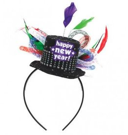 New Year Deluxe Feathered Headband