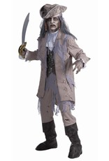 Men's Costume Zombie Pirate