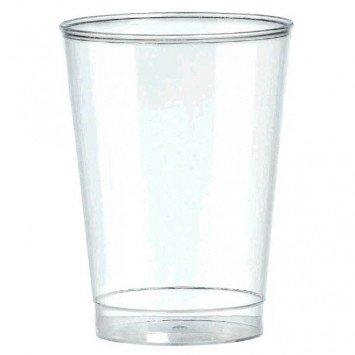 10oz Clear Plastic Tumbler 72ct