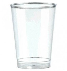 10oz Clear Plastic Tumbler 72ct