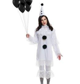 Women's Costume Heartbroken Clown Large