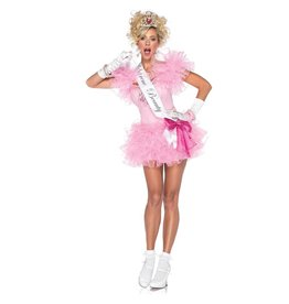 Women's Costume Little Miss Supreme Beauty Small