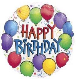 """Balloon Fun Birthday 18"""" Mylar Balloon"""