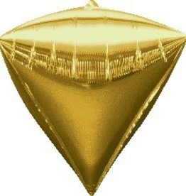 Mylar Gold Diamond Balloon