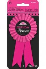 Birthday Princess Award Ribbon