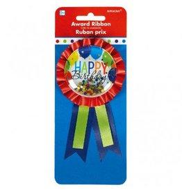 Balloon Bash Confetti Pouch Award Ribbon