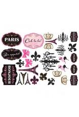 Day in Paris Mega Value Pack Cutouts