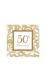 50th Anniversary Beverage Napkins (16)