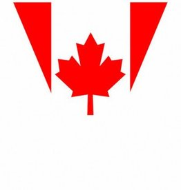 Canadian Flag Pennant Banner