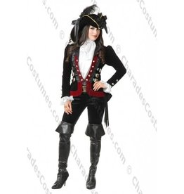 Women's Costume Sultry Pirate Lady - Medium