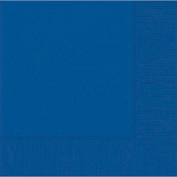 Bright Royal Blue Lunch Napkins (50)