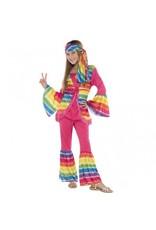 Children's Costume Groovy Girl Large