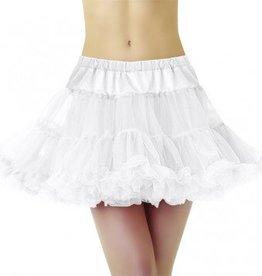 Full Petticoat White Adult Standard