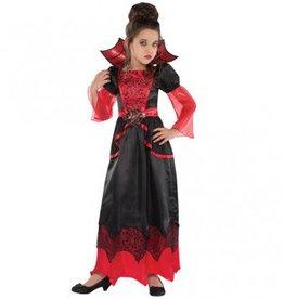 Child Costume Vampire Queen Medium