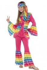 Children's Costume Groovy Girl Medium