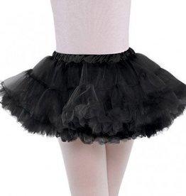 Full Black Petticoat Child S/M