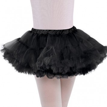 Full Black Petticoat Child S/M