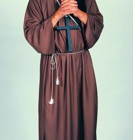 Men's Costume Brown Monk Robe