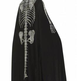 Black Skeleton Cape