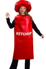 Adult Costume Ketchup Standard