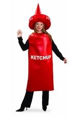 Adult Costume Ketchup Standard