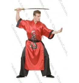 Men's Costume  Samurai-Dragon Master