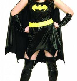 Women's Costume Batgirl Plus Size