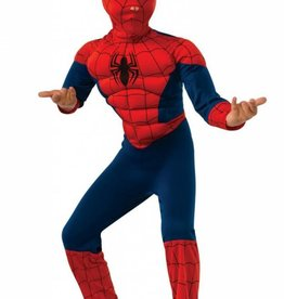 Child Costume Spiderman Muscle Chest