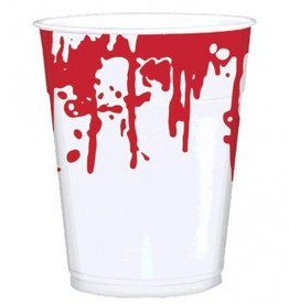 Blood Splattered Printed Cups, 16 oz.
