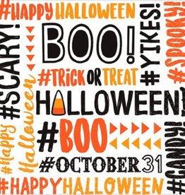 #Halloween Bevarge Napkins