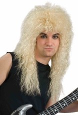 80s Rock Star Blonde Wig