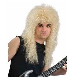 80s Rock Star Blonde Wig
