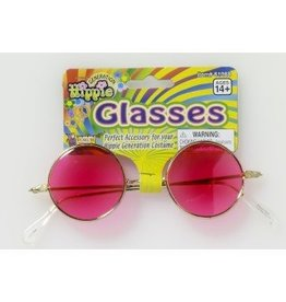 Glasses Hippie Pink