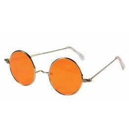 Hippie Orange Glasses