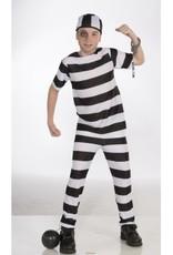 Children's Costume Convict Medium